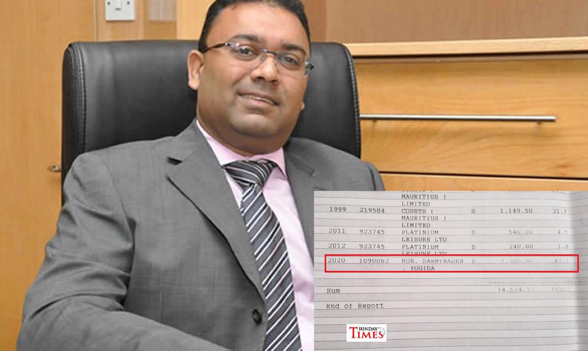 Sakuntala Kistnen accuse le ministre Sawmynaden   Sunday Times