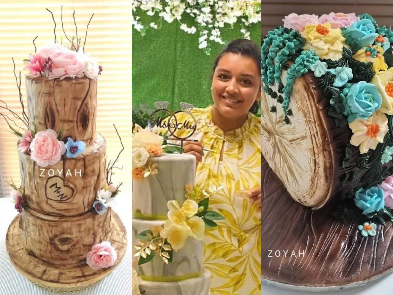 ZOYAH : Des gâteaux exquis et aux décorations artistiques et sublimes   Sunday Times
